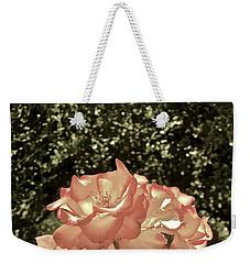 Rose 55 Weekender Tote Bag by Pamela Cooper