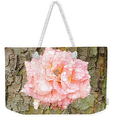 Rose Bark Weekender Tote Bag