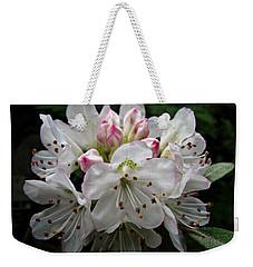 Rose Bay Rhododendron Weekender Tote Bag