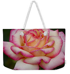 Rose Beauty Weekender Tote Bag