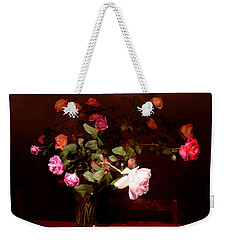Rose Bouquet Weekender Tote Bag by Steve Karol