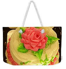 Rose Cakes Weekender Tote Bag