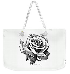 Rose Created For Canvas Comforts Weekender Tote Bag