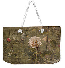 Rose Garden Weekender Tote Bag by Liz  Alderdice