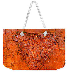 Rose Gold Mixed Media Triptych Part 3 Weekender Tote Bag