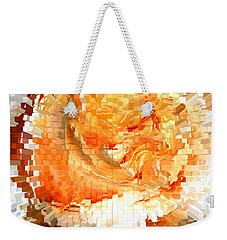 Rose In Bloom Weekender Tote Bag