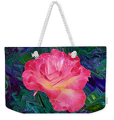 Rose In The Matter Of Your Hand V7 Weekender Tote Bag