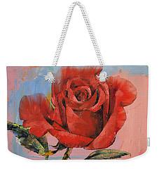 Rose Painting Weekender Tote Bag