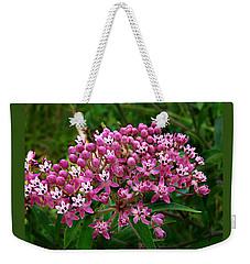 Rose Milkweed Weekender Tote Bag by William Tanneberger