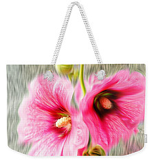 Rose Of The North Abstract. Weekender Tote Bag by Ian Gledhill