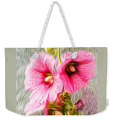 Rose Of The North Abstract. Weekender Tote Bag