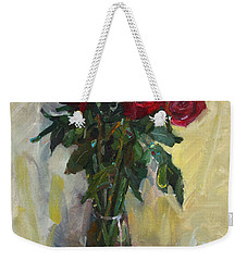 Rose To The Birthday Weekender Tote Bag