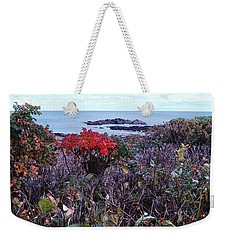 Rosehip Weekender Tote Bag by Mim White
