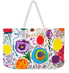 Roses And Lollipops For Mom Weekender Tote Bag