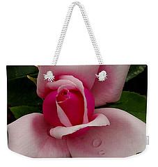 Roses Are Pink  Weekender Tote Bag