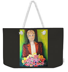 Roses For The Lady Weekender Tote Bag