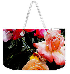 Roses Roses Roses Weekender Tote Bag by James C Thomas