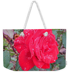 Rosie Red Weekender Tote Bag