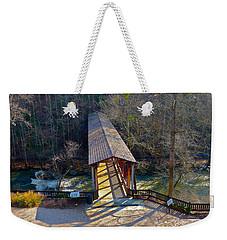 Roswell Covered Bridge Weekender Tote Bag