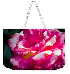 Rosy  Weekender Tote Bag by Naomi Burgess