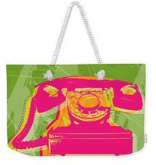 Rotary Phone Weekender Tote Bag