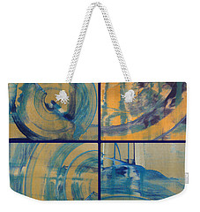 Weekender Tote Bag featuring the photograph Rotation Part One by Sir Josef - Social Critic - ART