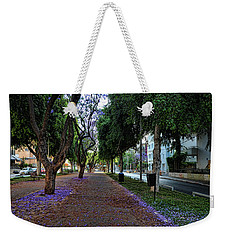 Rothschild Boulevard Weekender Tote Bag by Ron Shoshani