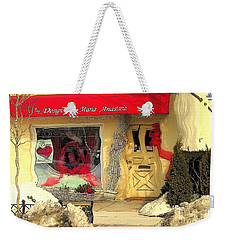 Rouge On The Rue Weekender Tote Bag by Tami Quigley