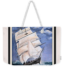 Rough Seas Weekender Tote Bag