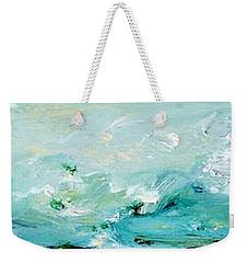 Rough Waters Weekender Tote Bag