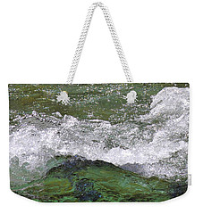 Rough Waters Weekender Tote Bag