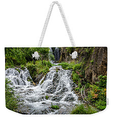 Roughlock Falls South Dakota Weekender Tote Bag