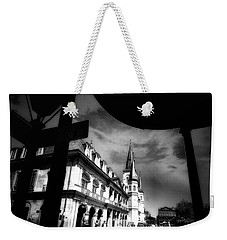 Round Corner Weekender Tote Bag by Robert McCubbin