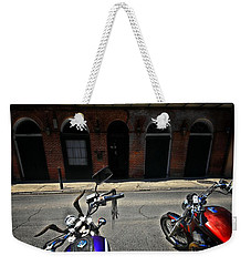 Round N Rounds Weekender Tote Bag by Robert McCubbin