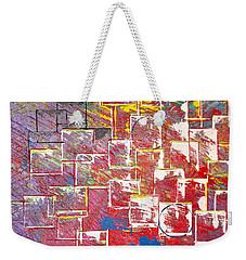 Round Peg Weekender Tote Bag by George Riney
