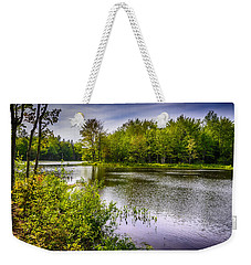Weekender Tote Bag featuring the photograph Round The Bend 35 by Mark Myhaver