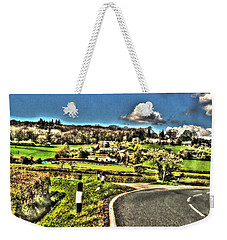 Weekender Tote Bag featuring the photograph Round The Bend by Doc Braham
