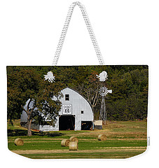 Route 66 Barn Weekender Tote Bag