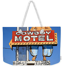 Route 66 - Cowboy Motel Weekender Tote Bag
