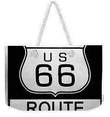Route 66 End Weekender Tote Bag