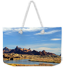 Route 66 Needles Mtn Range 2      Sold Weekender Tote Bag
