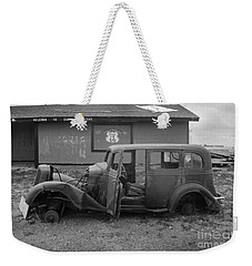Route 66 Travels Weekender Tote Bag