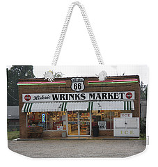 Route 66 - Wrink's Market Weekender Tote Bag by Frank Romeo