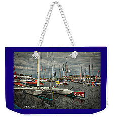 Route Du Rhum Ready Weekender Tote Bag