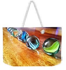 Row Of Marbles Weekender Tote Bag