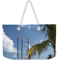 Row Of Sailboats Weekender Tote Bag