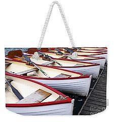 Rowboats Weekender Tote Bag by Elena Elisseeva