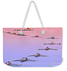 Rowers Arc Weekender Tote Bag by Gary Holmes