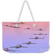 Rowers Arc Weekender Tote Bag