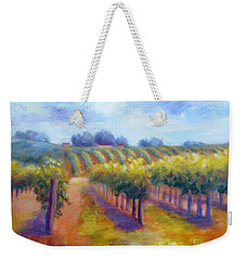 Rows Of Vines Weekender Tote Bag